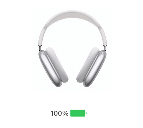 AirPods Max charging