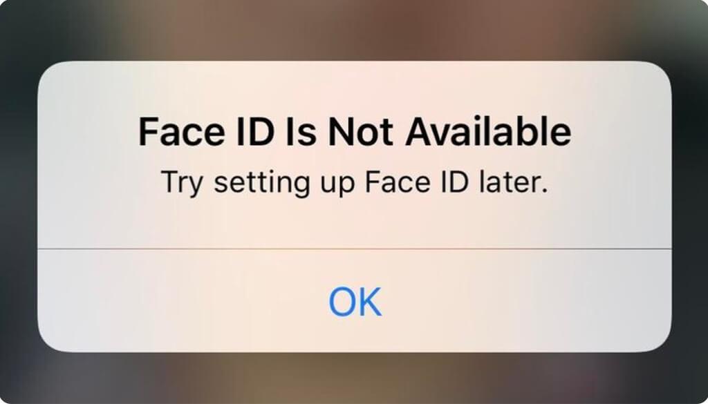 nestrādā Face ID